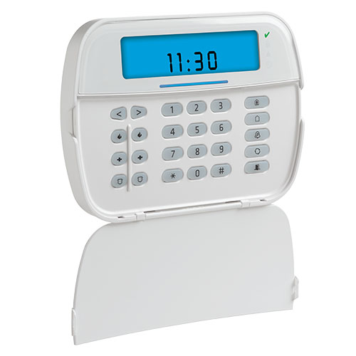 DSC ICON Hardwired Keypad with Built-in PowerG Transceiver