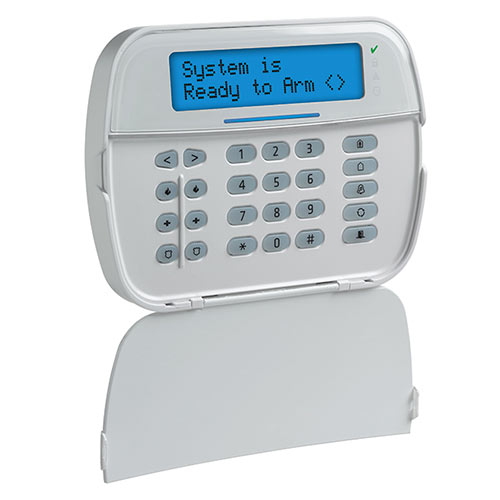 DSC HS2LCDRF9 N PowerSeries Neo Hardwired LCD Keypad Full Message With Built-in PowerG Transceiver