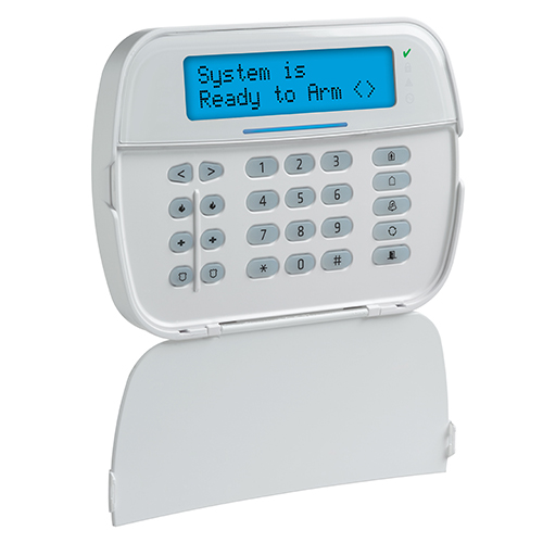 DSC Hardwired Security Keypad with Optional PowerG Transceiver