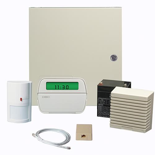 DSC PowerSeries 6-32 Zone Control w/RF Icon Keypad, PIR