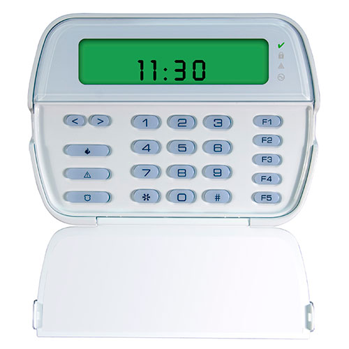 DSC PowerSeries 64-Zone LCD Picture Icon Keypad