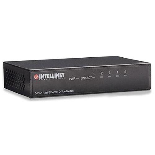 Intellinet 523301 5-Port Fast Ethernet Office Switch