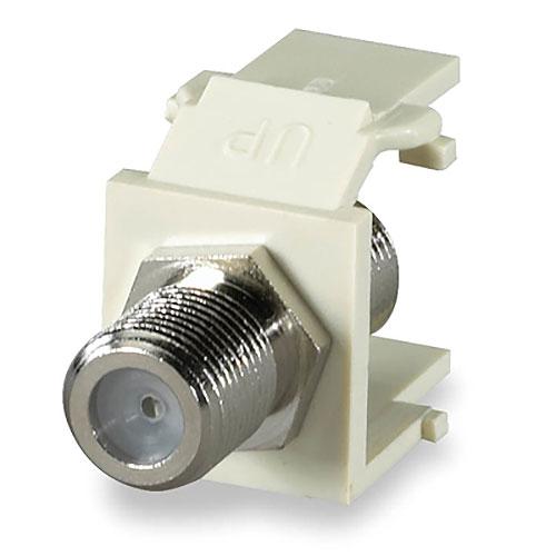 Signamax CMK-F F-Type Keystone Connector Module, 1 GHz, Light Ivory