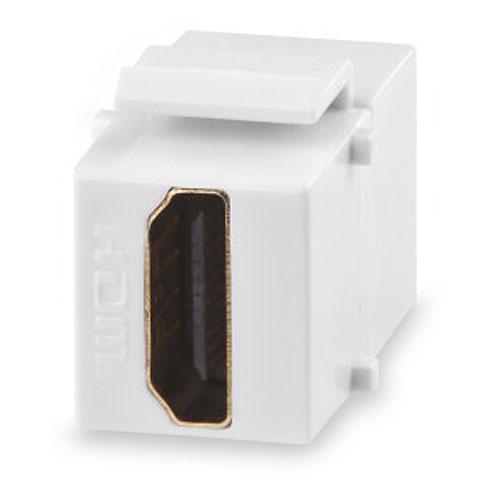 Signamax CMK-HDMI-WH HDMI Feed-Thru Keystone Connector Module, White