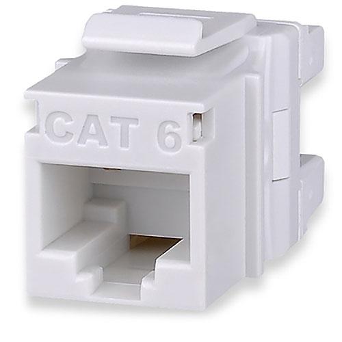 Signamax KJ458MT-C6C-WH Category 6 MT-Series Keystone Jack, T568A/B Wiring, White