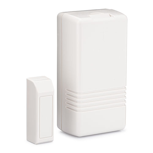 Honeywell Home 5819S Wireless Combination Magnetic Contact and Shock Sensor, White