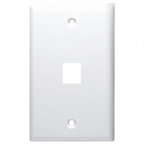 DataComm 20-3011-WH Keystone Faceplate