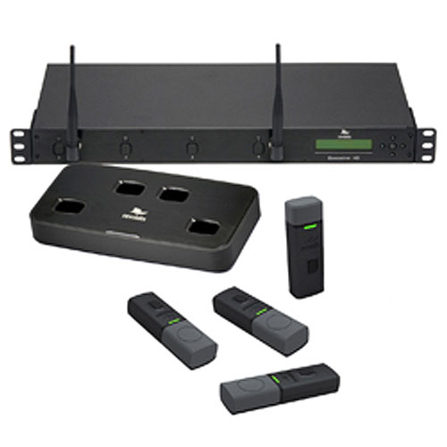Revolabs Executive HD 01-HDEXEC8-62G-3Y 8-Channel Wireless Microphone System