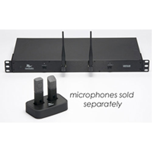 Revolabs HD Venue 01-HDVENU-NM 2-Channel Wireless Microphone System without Mics