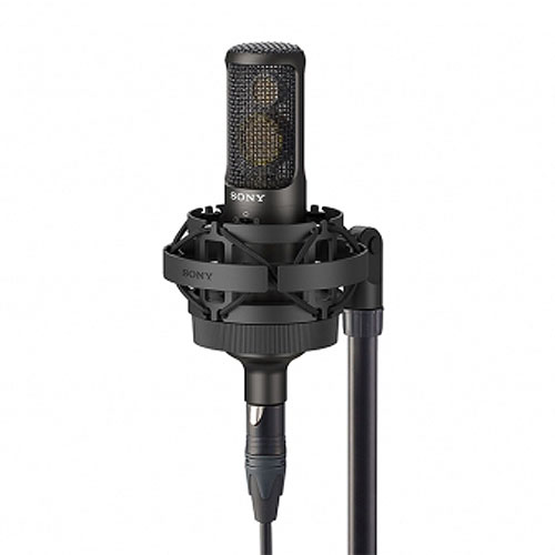 Sony C-100 Two Way Condenser Microphone, High Resolution for Studio Recording