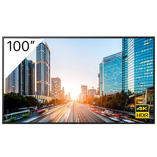 "Sony FW-100BZ40J 100"" BRAVIA 4K Ultra HD HDR Professional Display"