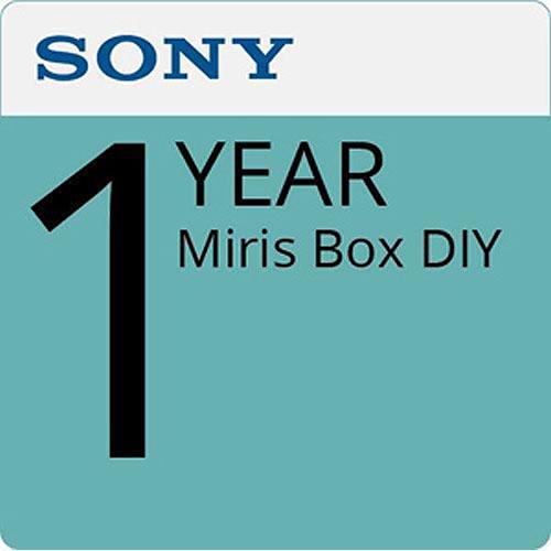 Sony UBIMDY Miris Box DIY License Year 1