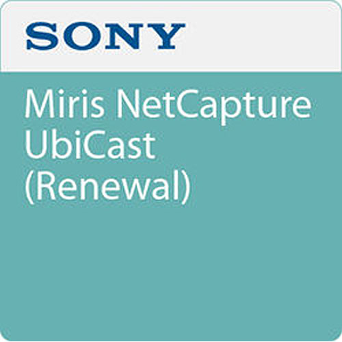 Sony UBIMNCR Miris NetCapture -Renewal