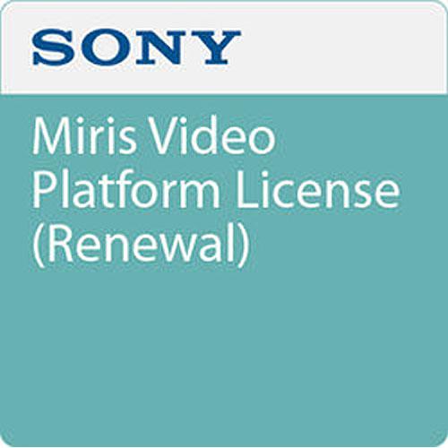 Sony UBIMSRLR Miris Video Platform Renewal