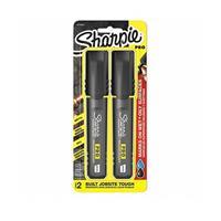 Sharpie PRO 2-Pack Chisel Medium Black Permanent Marker (2018330)
