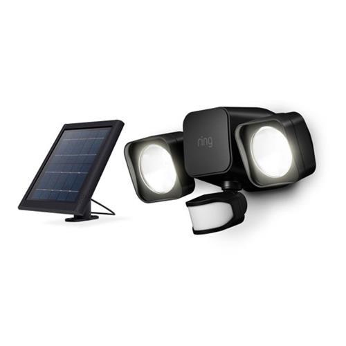 Ring B07YP9VVMM 5AT1S5-BEN0 Smart Lighting Floodlight Solar, Black
