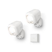 Ring B07QLNH8T2 Smart Lighting Spotlight Kit, 2 Spotlights + 1 Bridge, White