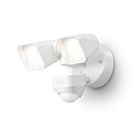 RING FLOODLIGHT WIRED WHITE