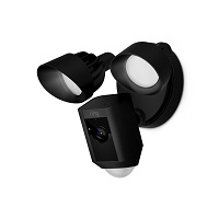 RING FLOODLIGHT CAM X - BLACK
