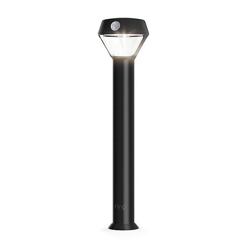Ring B07KXPDML3B07YPB8TBS Smart Lighting Pathlight Solar, Black