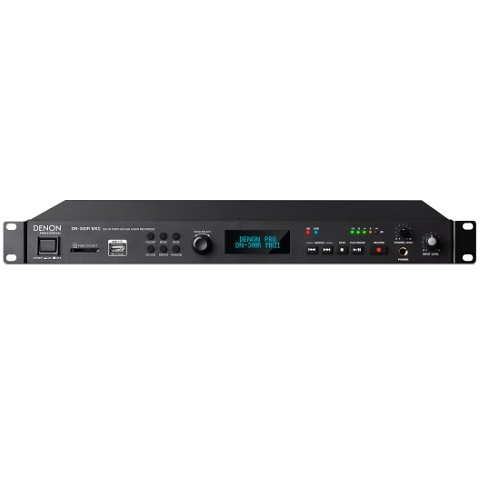 Denon DN-300R MKII Solid-State SD/USB Audio Recorder