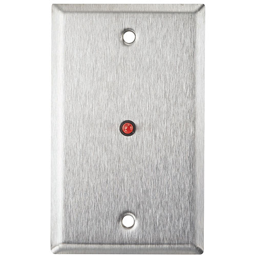 Alarm Controls RP-28 Single Gang Wall Plate on Slim 1.5in Plate