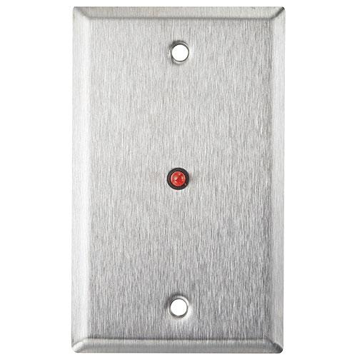 Alarm Controls RP-28 Single Gang Faceplate