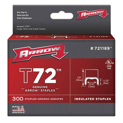 Arrow 721189 Insulated Staple