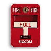 SigCom Spectrum SG-42CXK1-RD Pull Station