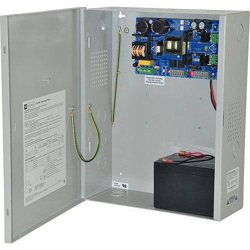 Power Supply/Charger - 12vdc @ 10a, AC And Battery