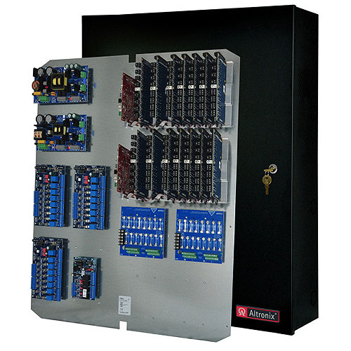 Altronix TROVE3SS3 Lenel-S2 Access & Power Integration Enclosure with Backplane, Trove3 Series
