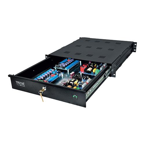 Altronix TROVE1AL1R Access & Power Integration Rack Mount Enclosure with Backplane, Trove1 Rack Series