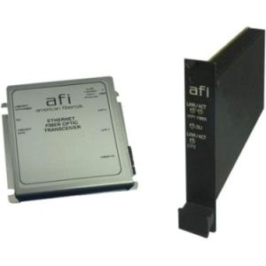 Afi 10/100Base-T to 100Base-FX Ethernet Media Converter / 3 Port Switch