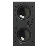 "Dual 5"" Img Woofers, 1"" Pivoting Aluminum Tweeter"