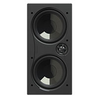 "Dual 6.5"" Img Woofers, 1"" Pivoting Aluminum Tweeter"