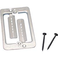nVent CADDY MPLS Low Voltage Mounting Plate with Screws, 1 gang