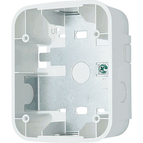 System Sensor SBBWL Mounting Box for Chime, Strobe, Horn - White