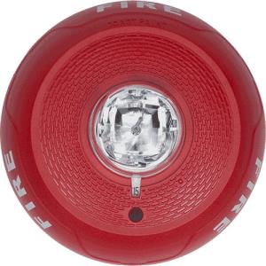 SYSTEM SENSOR CEILING MOUNT STROBE - RED