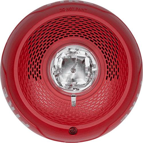 SPEAKER STROBE RED CEILING