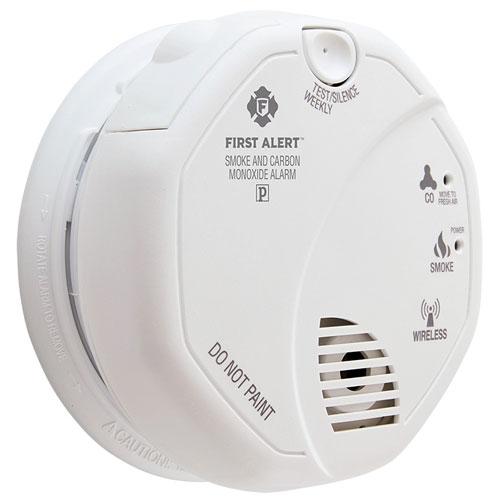 BRK ZCOMBO-G Z-Wave enabled Battery Smoke/CO Combo Alarm