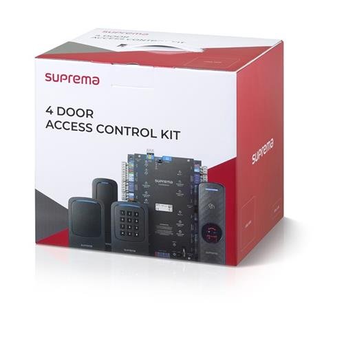 Suprema CST-4DR-D2GK CoreStation 4-Door Access Control Kit, CS-40 & 4 XPD2-GKDB