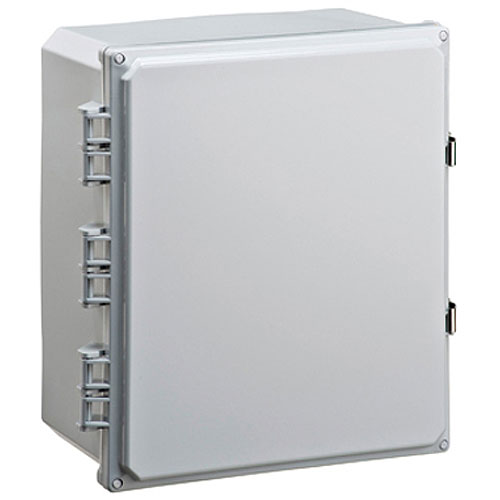 Mier BW-SL14126 Mier Products BW-SL14126 Outdoor Enclosure, Stainless Steel Latch, NEMA 14  x 12  x 6 in., Polycarbonate