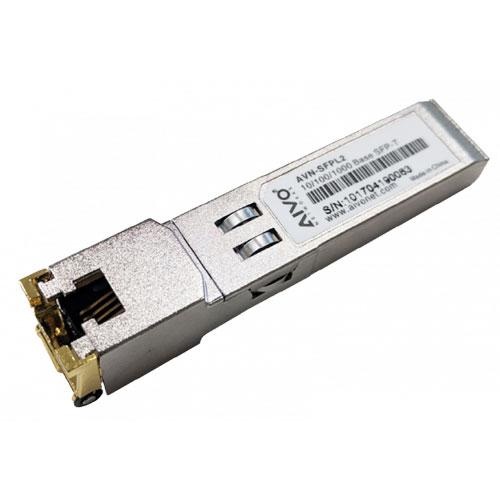 Sfp Gigabit Fiber Transceiver Module To Rj45 Conn