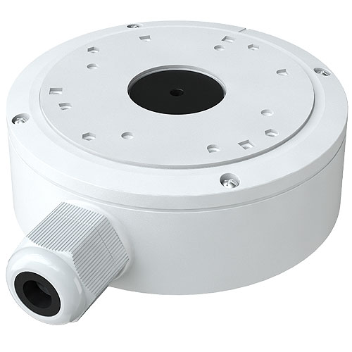 AVYCON Mounting Box for Network Camera, Surveillance Camera - White