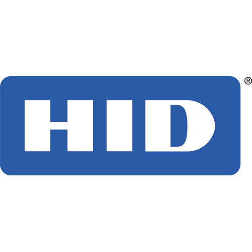 HID Dymo Printer Black & White Badge