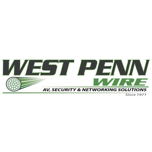 WEST PENN CAT5E/CAT6 UTP JACK RED