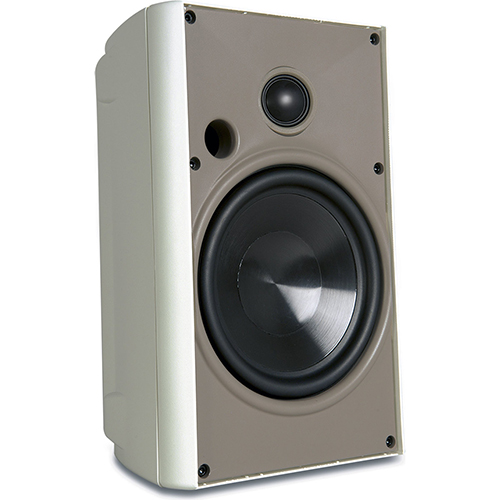 Proficient Audio AW525 2-way Wall Mountable, Floor Standing Speaker - 125 W RMS - White