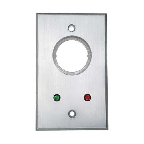 Cast Alumn Key Switch SPDT Momentary W/24volt Leds