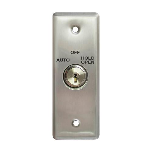 Key Switch W/Stainless Steel (Narrow Stile)facplat