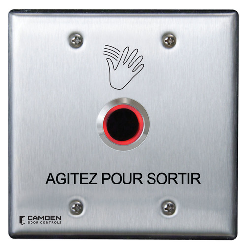Valuewave Touchless Switch, Double Gang, French